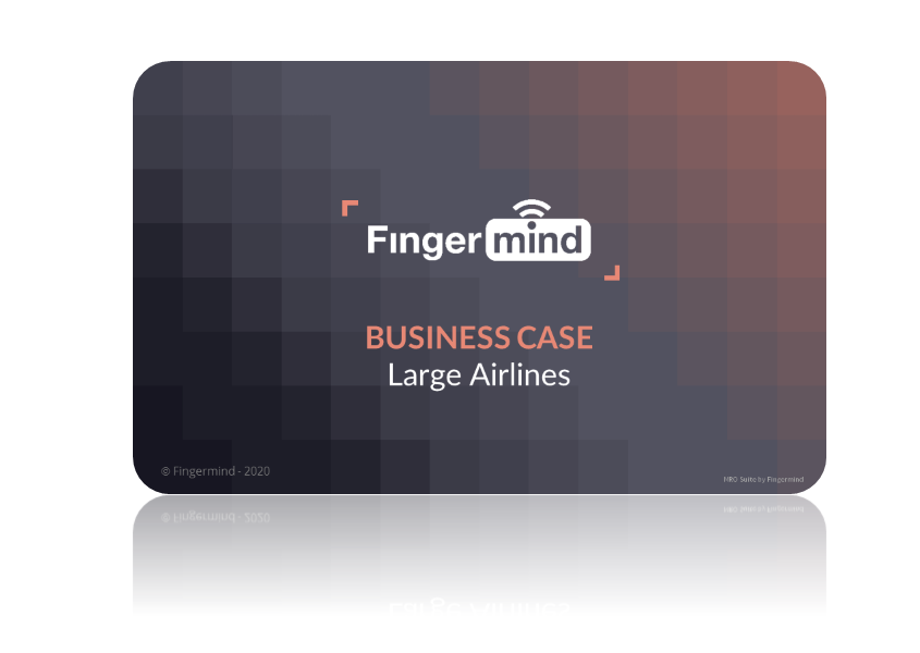 Fingermind Business case Large Airlines 2020