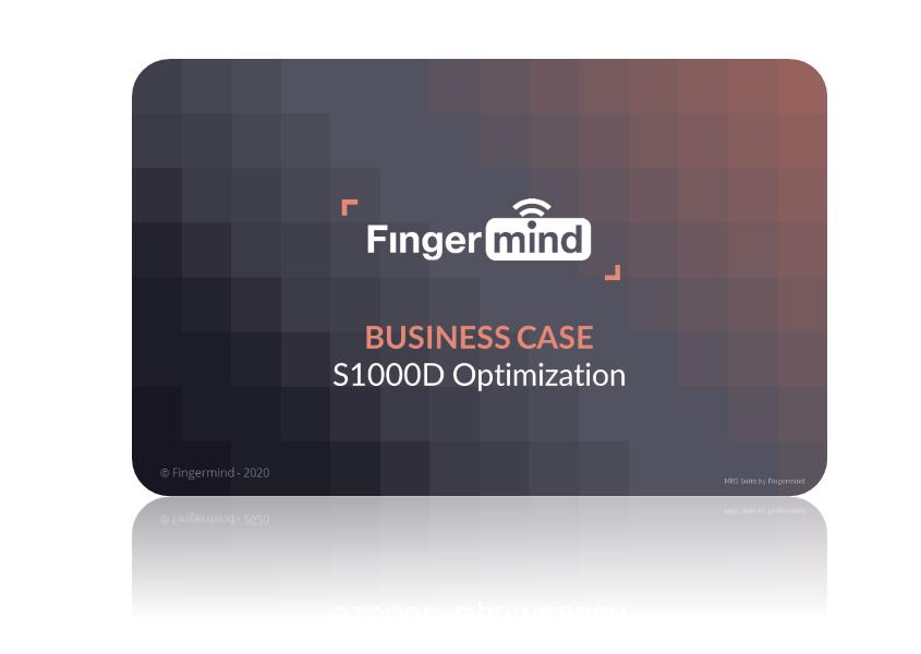 Fingermind Business case S1000D Optimization 2020