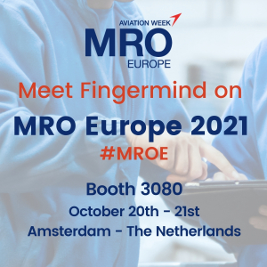 Join Fingermind on MRO Europe 202